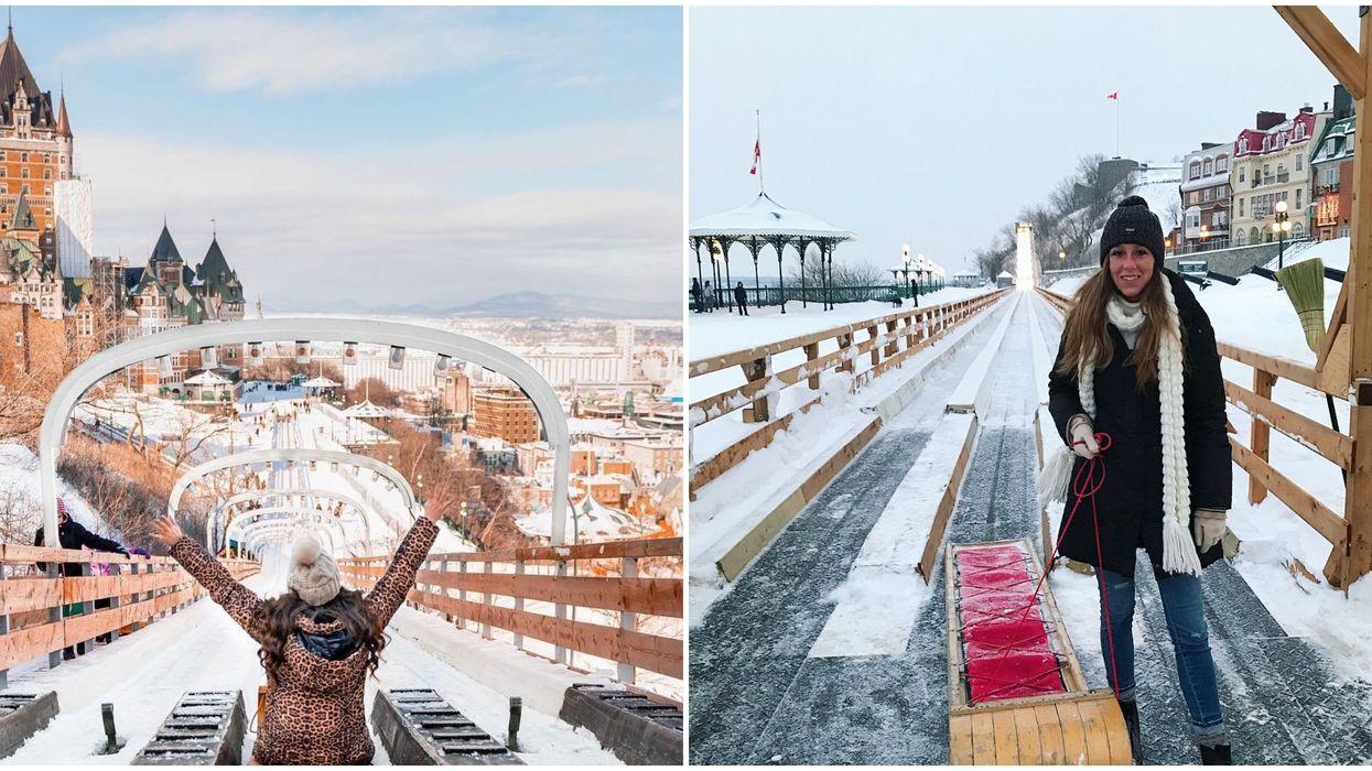 Glissade de la Terrasse Dufferin à Québec : ouverture annoncée le 17 décembre