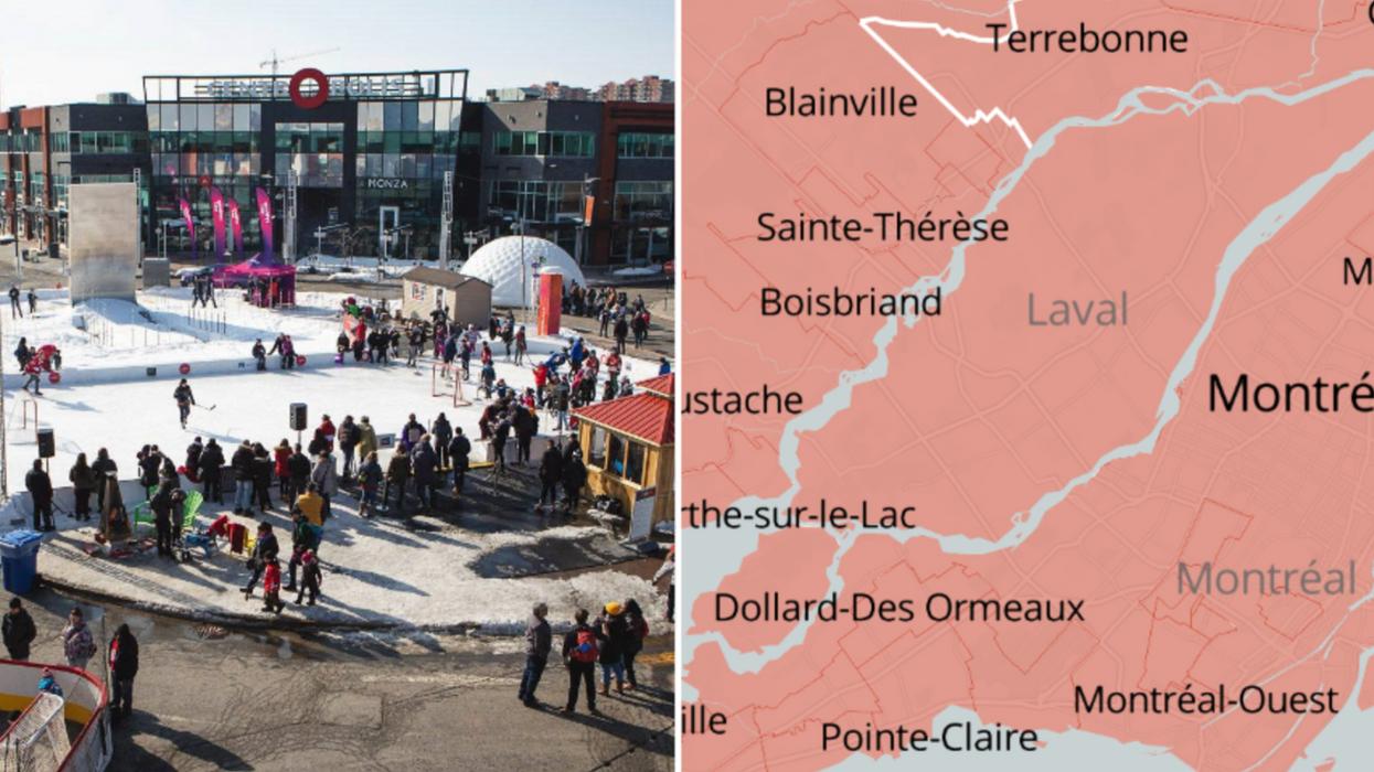 La propagation de la COVID-19 à Laval augmente et voici les secteurs les plus touchés