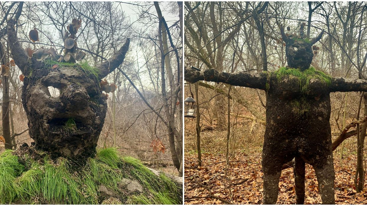High Park Statue Is The Creepiest & Most Mysterious New Toronto Landmark