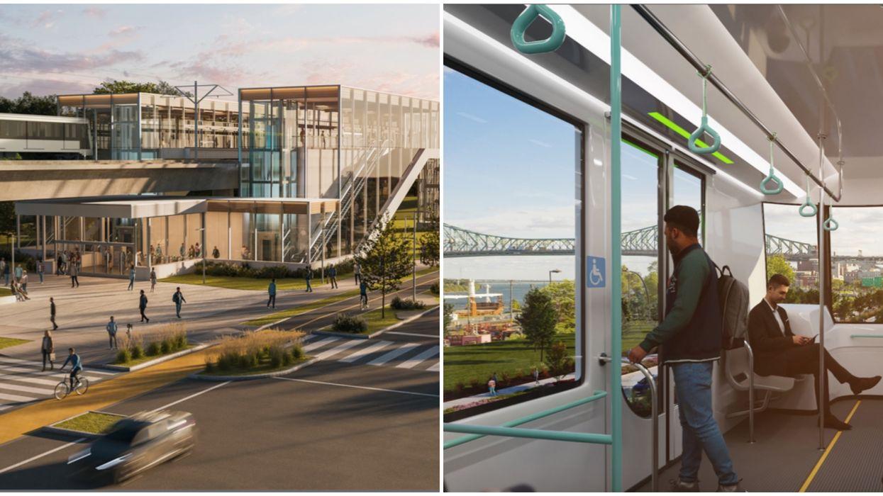 Une extension majeure du REM à Montréal est annoncée et il y aura 23 nouvelles stations