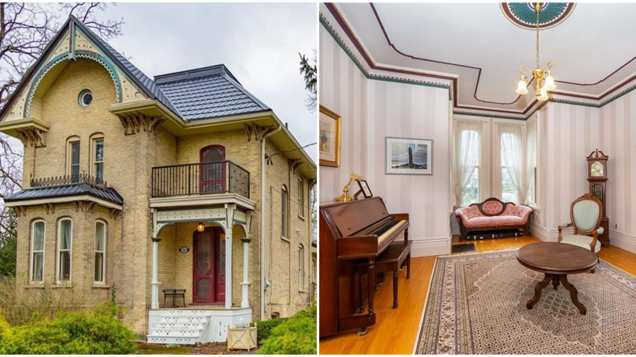 Ontario Mansion From The 19th Century Is Under 500k & Comes With Its Own Santa's Workshop