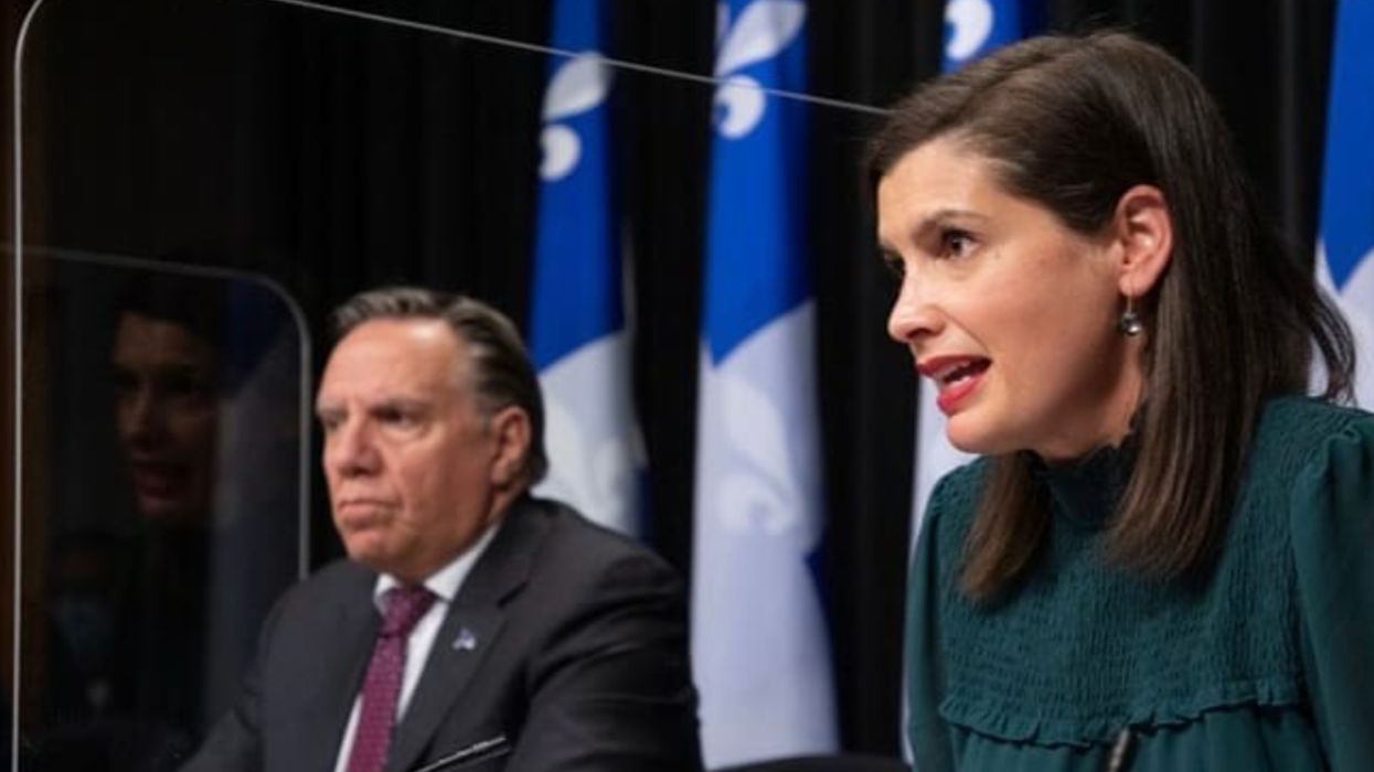 Vaccination Québec : Geneviève Guibault implore les Québécois de continuer leurs efforts