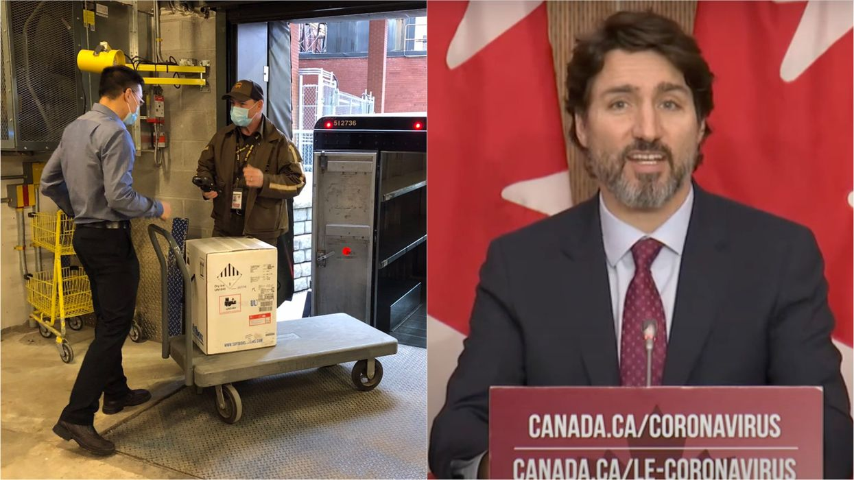COVID-19 Vaccines In Canada Are A 'Big Step' But Trudeau Says We're Not Out Of The Woods