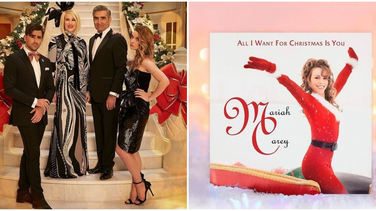 Schitt's Creek Supercut Of 'All I Want For Christmas Is You' Exists & It's Amazing