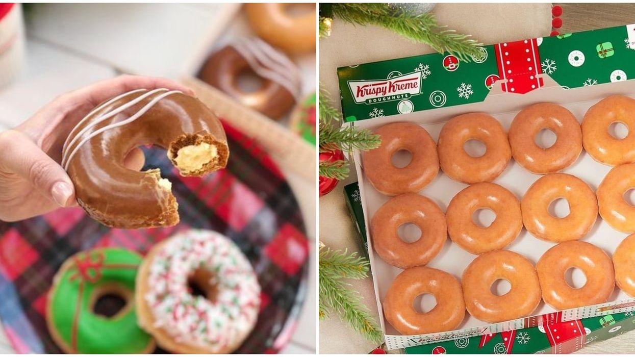 Krispy Kreme : cette saveur de Noël est de retour jusqu'aux Fêtes seulement