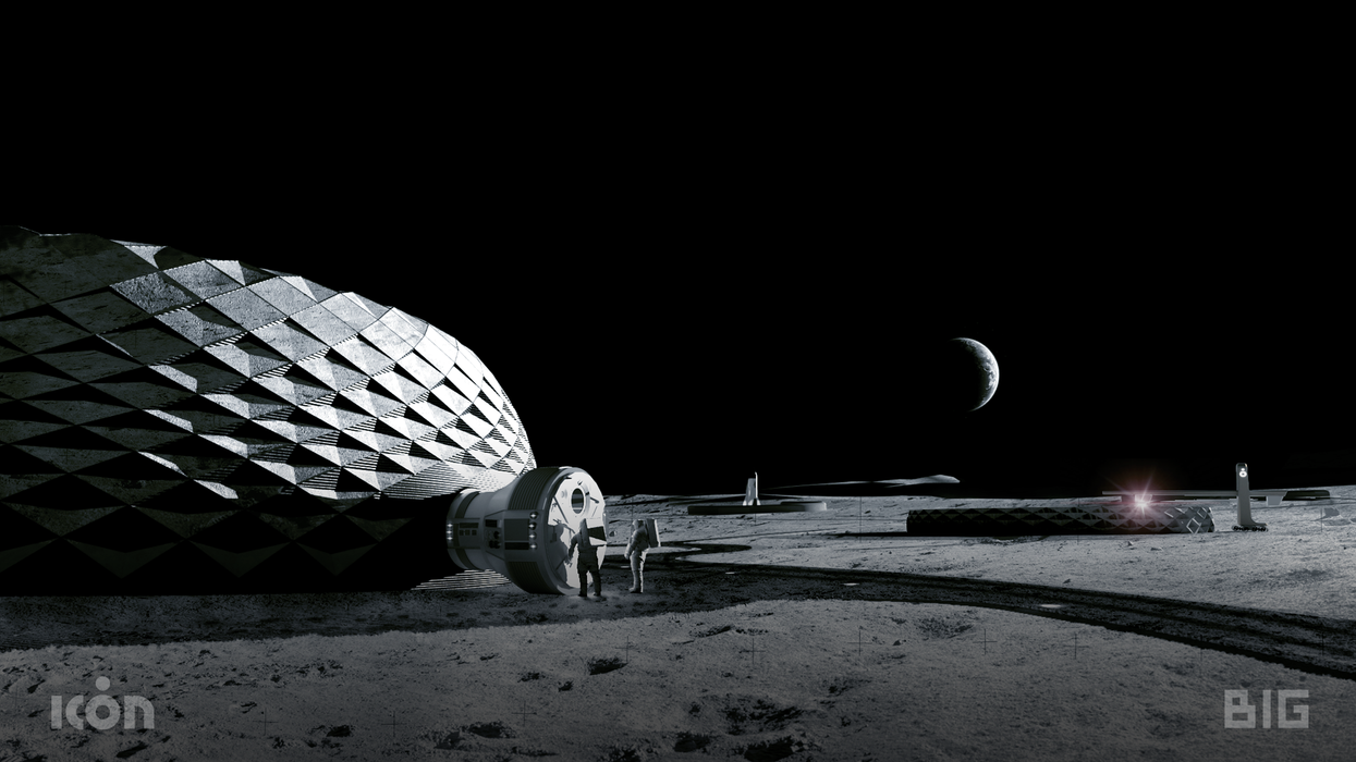 3D Printed Moon Houses Will Soon Be A Reality Thanks To This Austin-Based Company (PHOTOS)