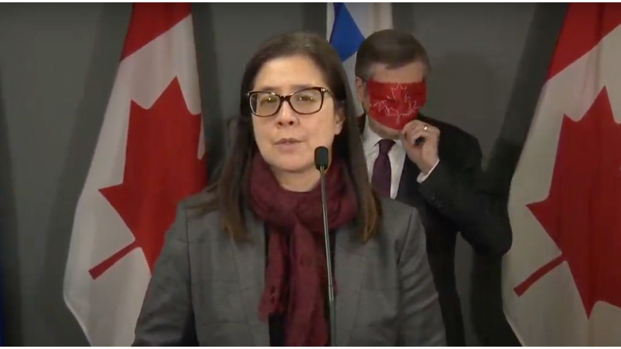 John Tory Forgot How To Face Mask On Live TV & He Did It Twice In 30 Minutes (VIDEO)