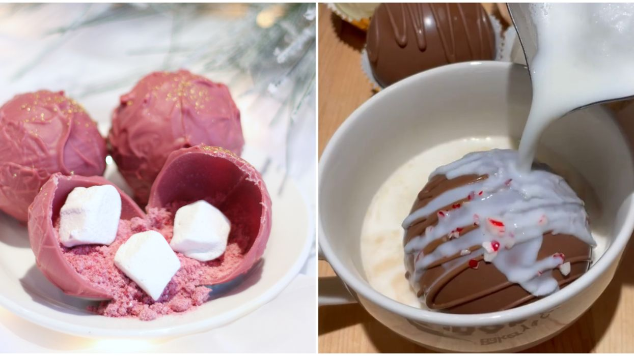 9 Places To Get The Most Satisfying Hot Chocolate Bombs In Toronto