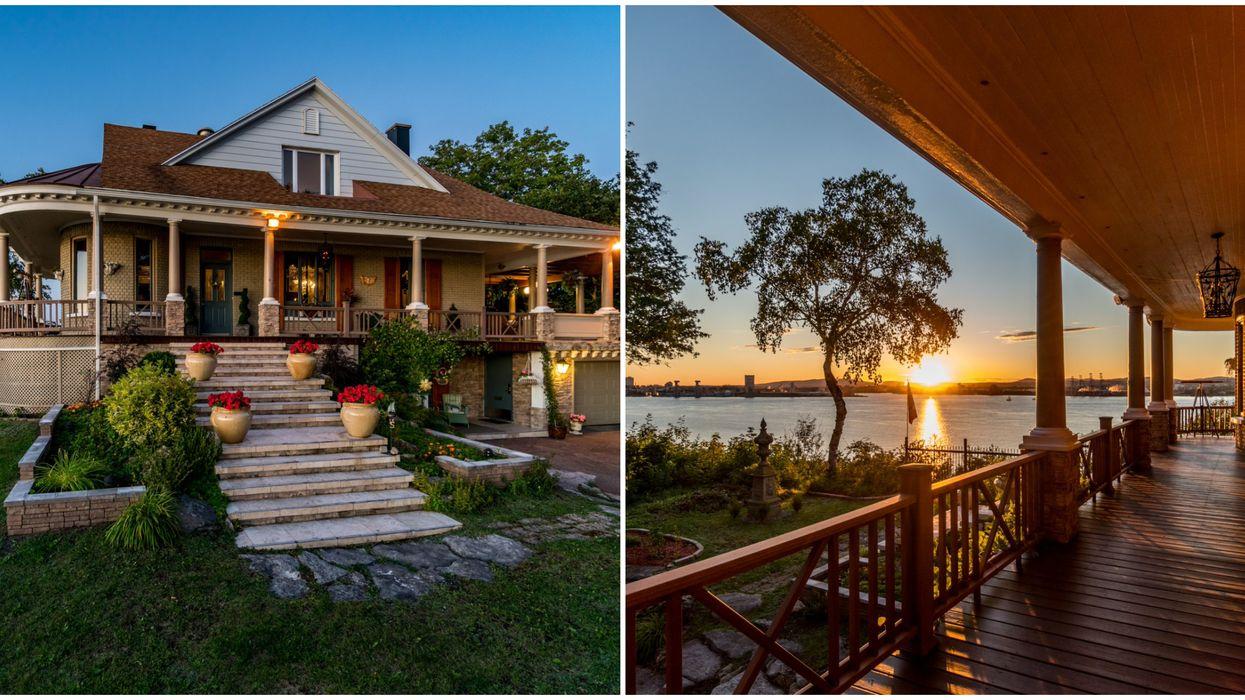 Maison à vendre à Lévis avec vue sur Québec et le fleuve Saint-Laurent