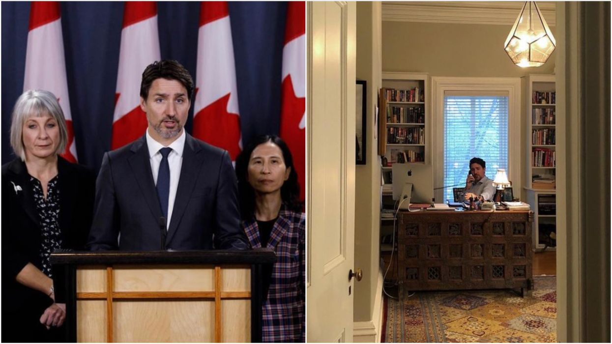2020 Review: 13 Photos Of Justin Trudeau That Show What A Year This Has Been