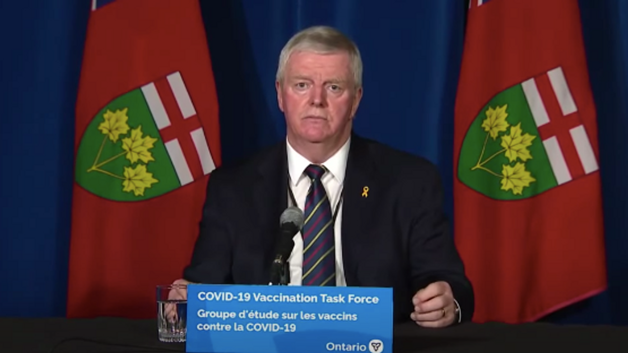 Ontario COVID-19 Vaccinations Stopped Over Christmas & Hillier Says They Got It Wrong