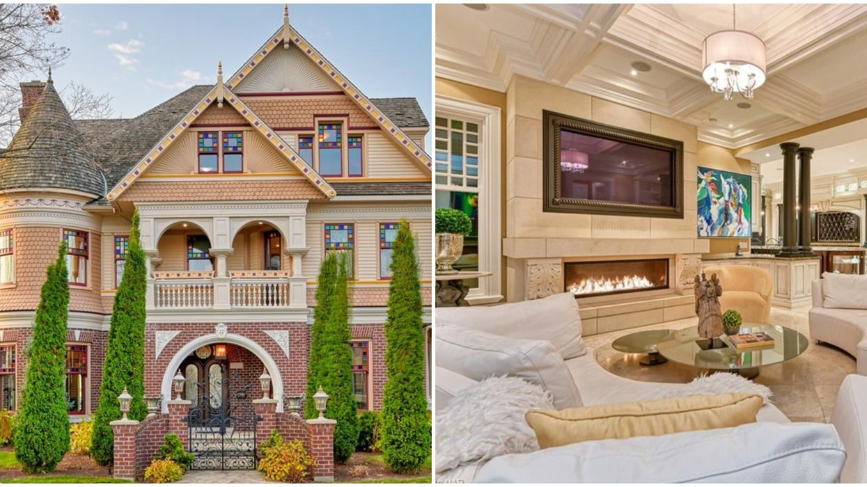 This $6M Mansion For Sale In Ontario Is Basically A Luxury Gingerbread House (PHOTOS)