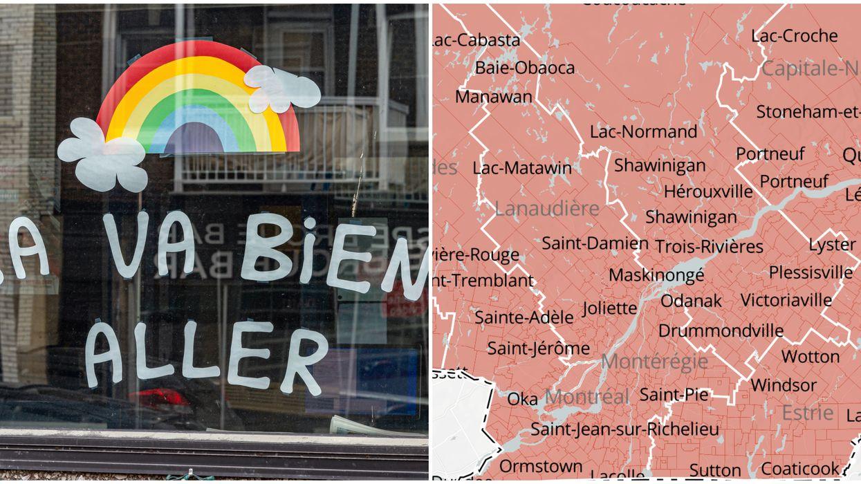 COVID-19: Un autre record est battu et voici les régions du Québec les plus touchées