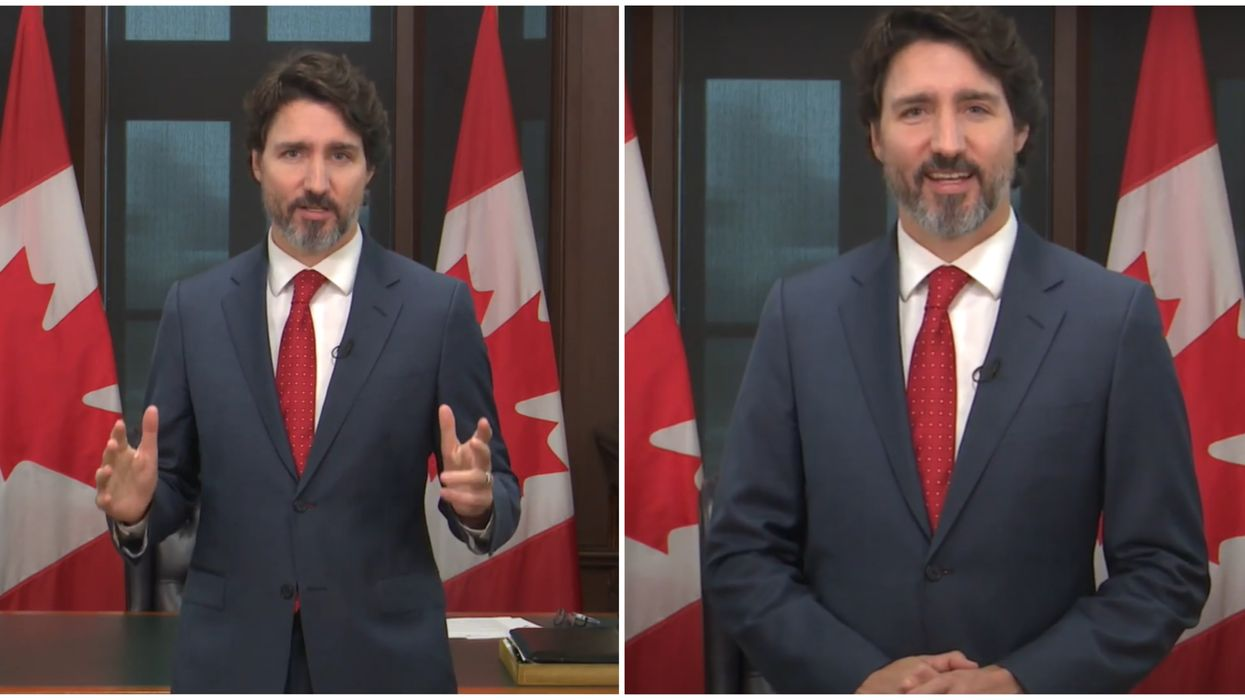 Justin Trudeau Was So Pumped While Wishing Canadians A Happy New Year