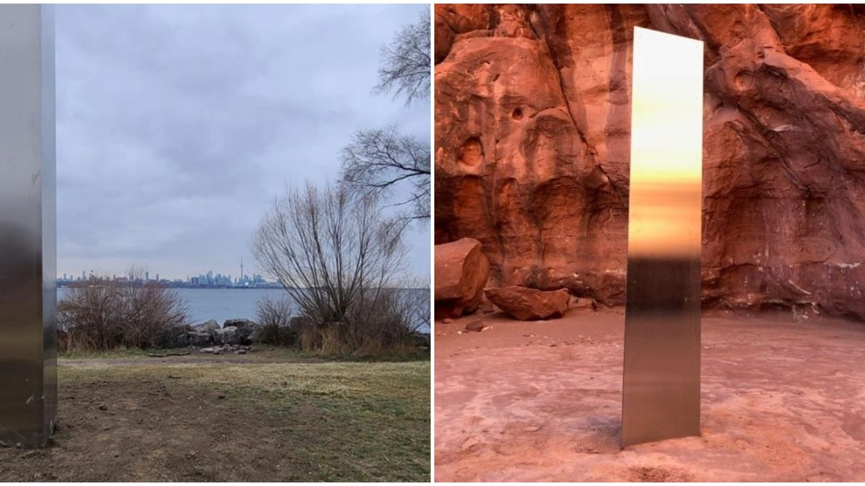 Toronto Just Got Its Own Mysterious Monolith That Appeared Out Of Nowhere