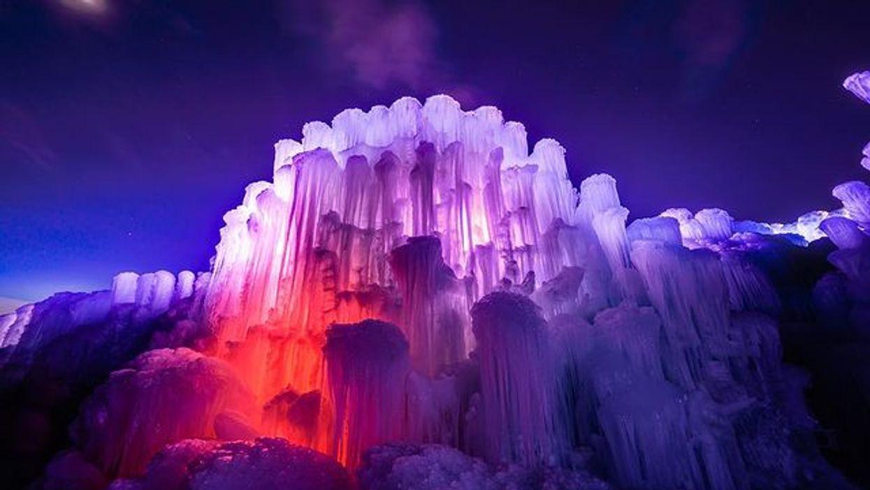 Ice Castles Colorado