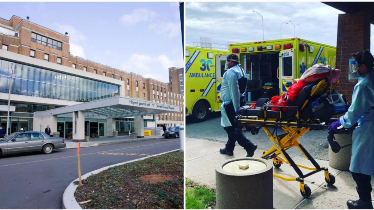 L'Hôpital général juif de Montréal doit installer des lits de le garage (PHOTO)