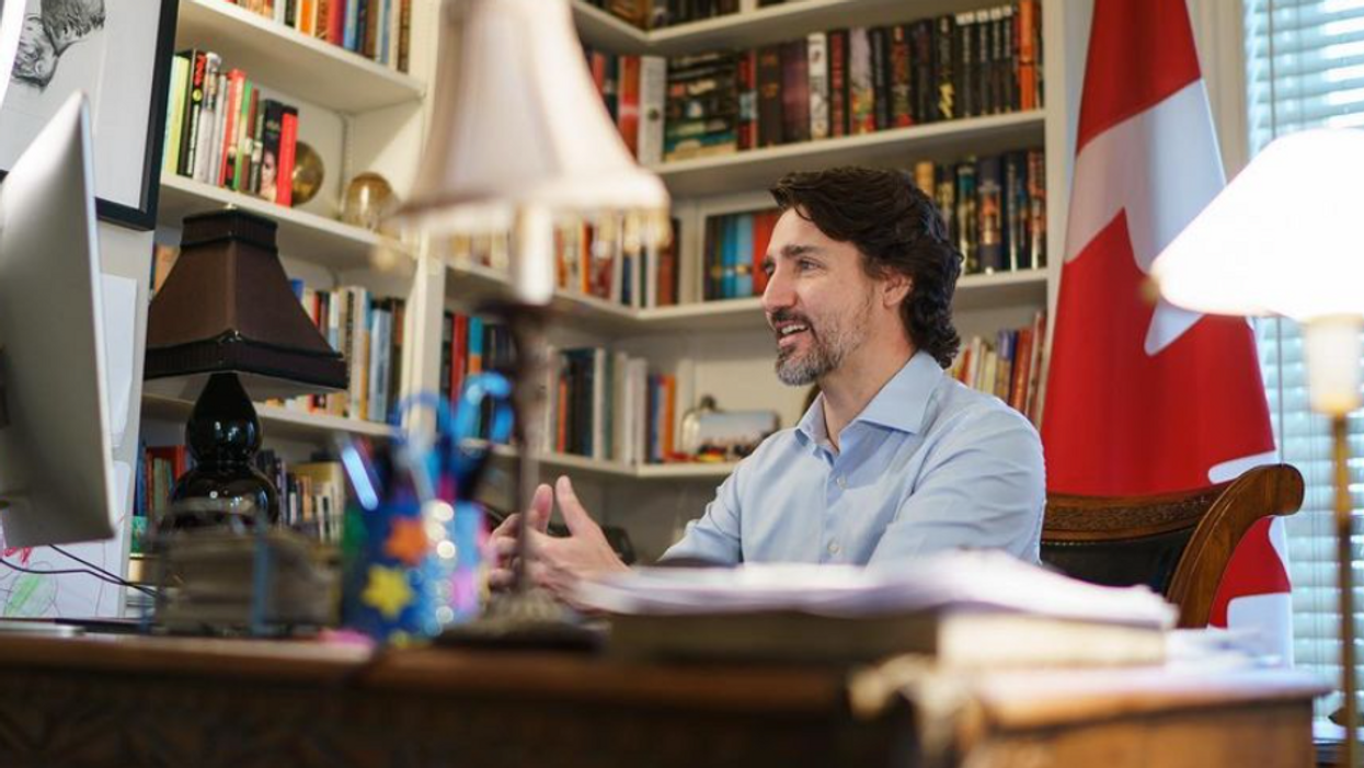 Justin Trudeau Says Better Days Are On The Horizon & Promises The Pandemic 'Will End'