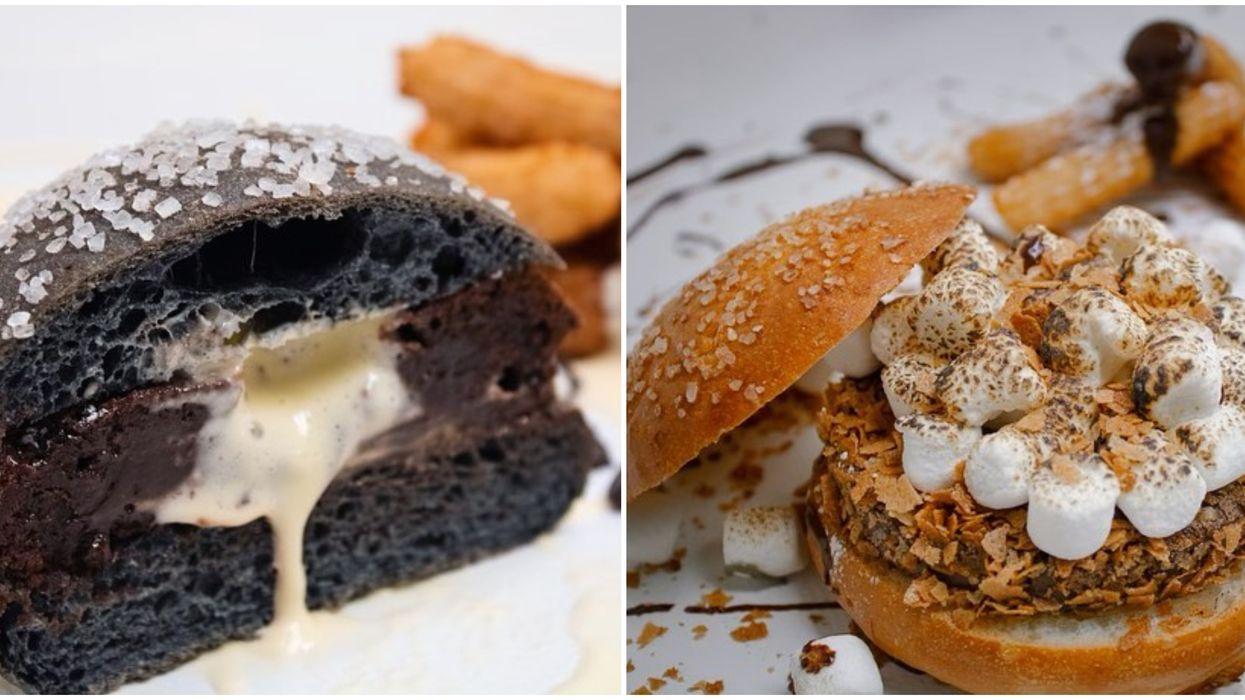 Les burgers sucrés existent à Montréal et c'est sûrement le dessert le plus cochon «ever»