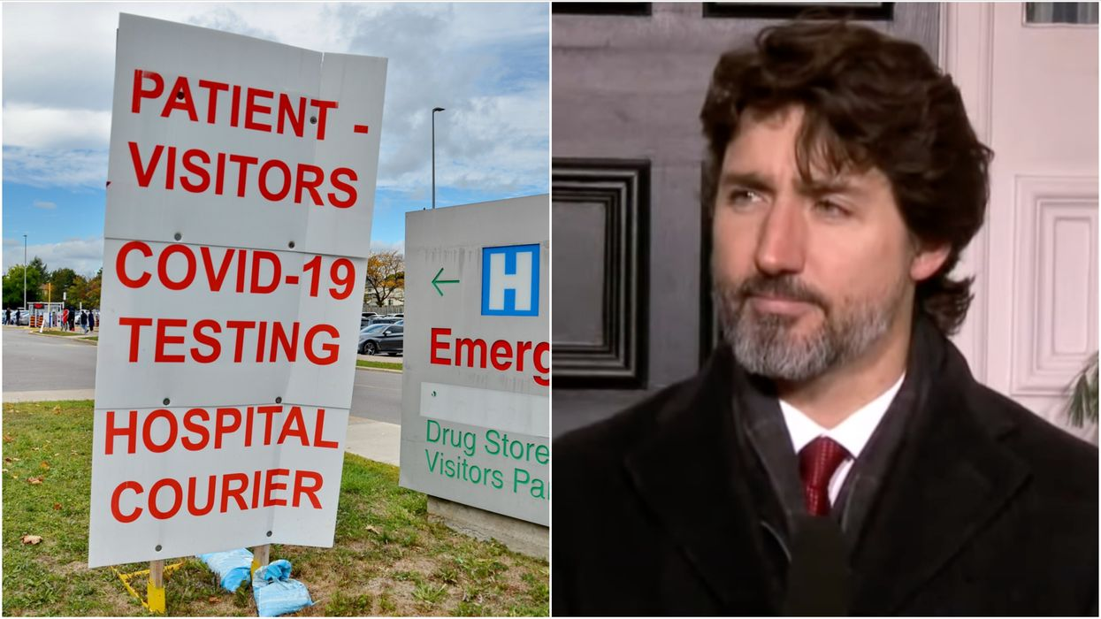 COVID-19 Cases In Canada Jumped On NYE & Now Trudeau's Getting Serious