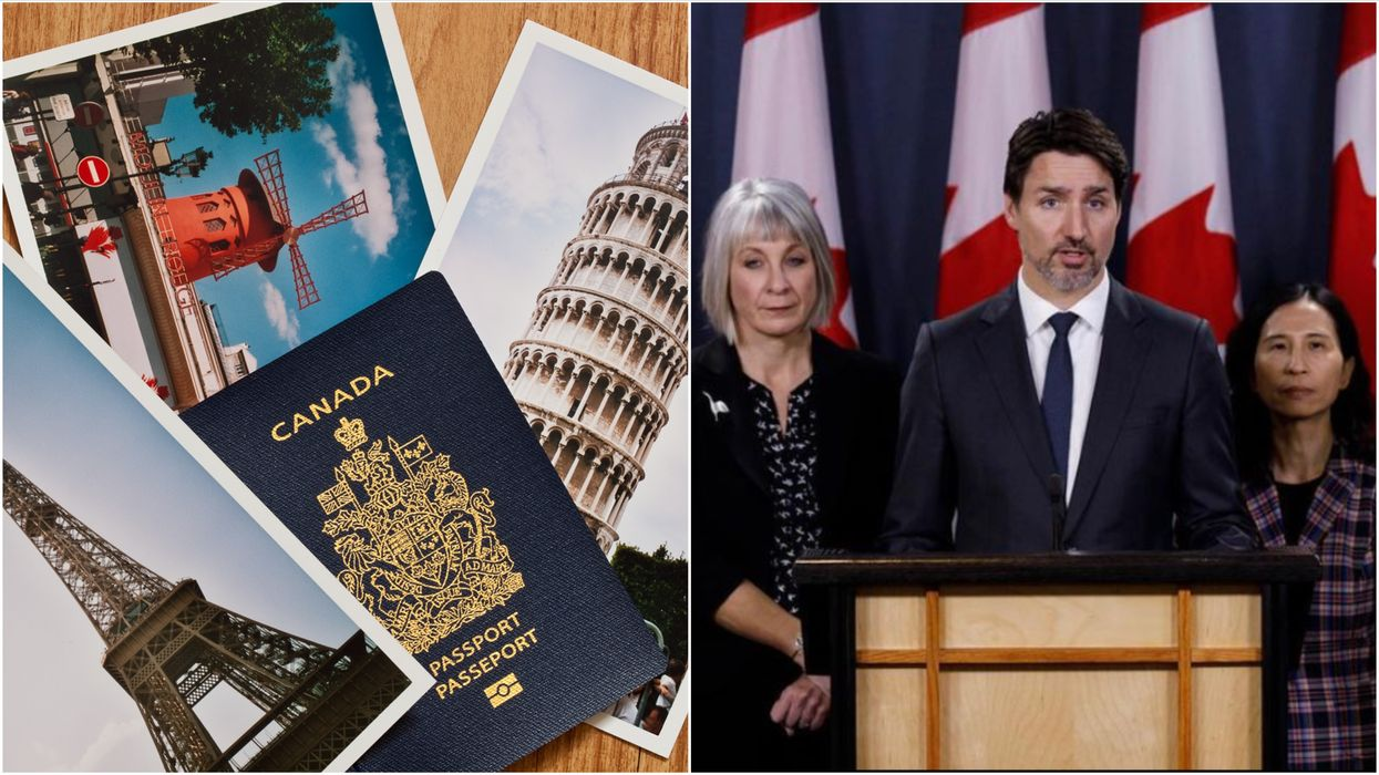 Travelling Abroad Shouldn't Be A 2021 New Year's Resolution Says Canada's Government