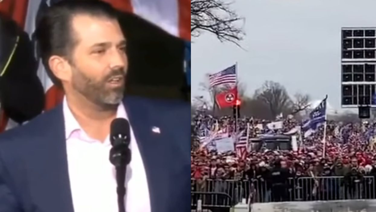 A Trump Rally Sound Crew Just Trolled Don Jr. By Playing Multiple Farewell Songs (VIDEO)