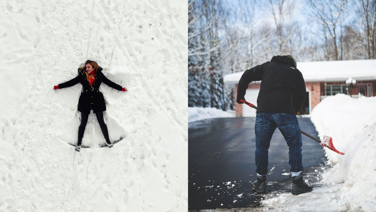 You Can Volunteer To Become A 'Snow Angel' For Your Neighbours & It's So Canadian