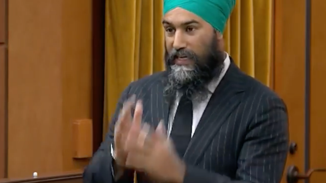 Jagmeet Singh Says The Violence In Washington Was 'Incited By Donald Trump'