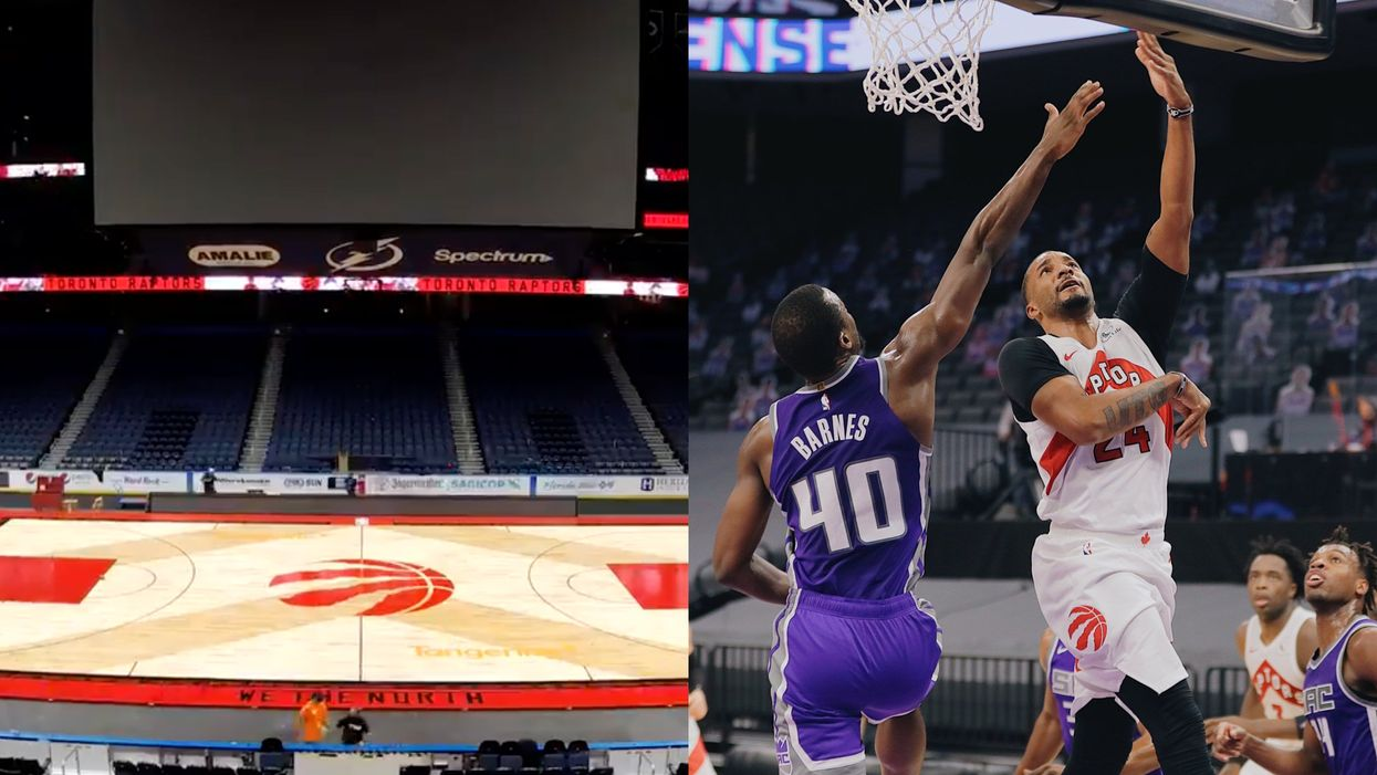Raptors Games In Tampa Won't Have Fans In Attendance Because Of High COVID-19 Numbers