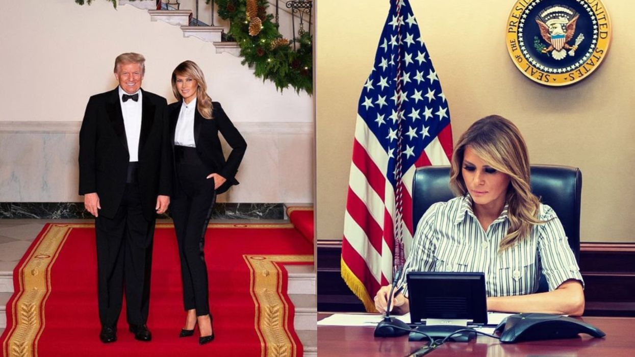 Melania Trump Hasn't Posted Anything On Social Media Since Her Husband Got Banned