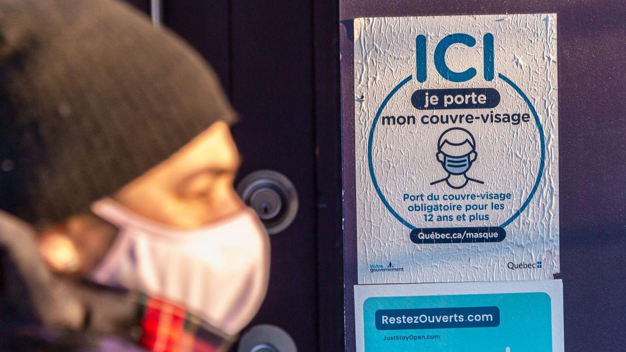 COVID-19 au Québec : record de 3 127 nouveaux cas dans la dernière journée