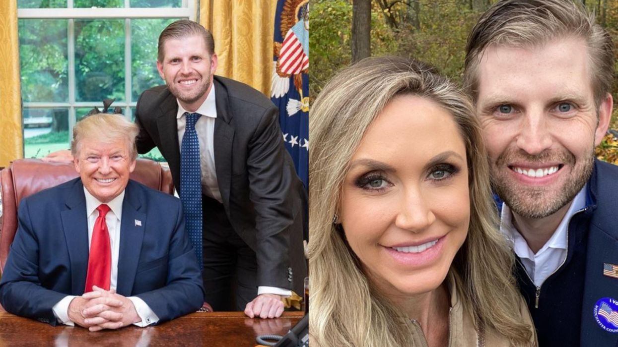 Eric Trump Says The Reason For Backlash Against His Dad Right Now Is 'Cancel Culture'