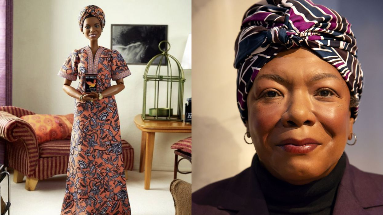 A Barbie Doll Honoring Dr. Maya Angelou Is Being Released This Month