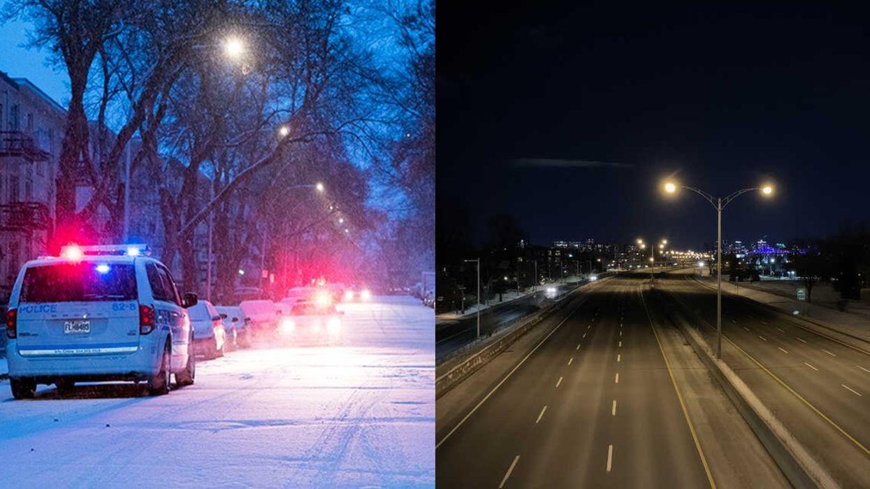 Couvre-feu Montréal : Le SPVM a donné 353 constats d'infraction la semaine dernière