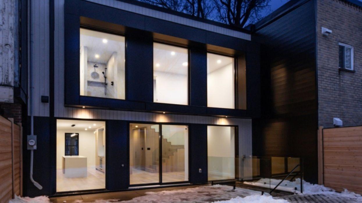 Maison à vendre à Montréal qui est digne d'une galerie d'art moderne