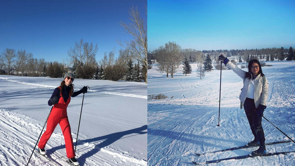 Here's Where You Can Find Free, Groomed Cross-Country Ski Tracks Around Calgary