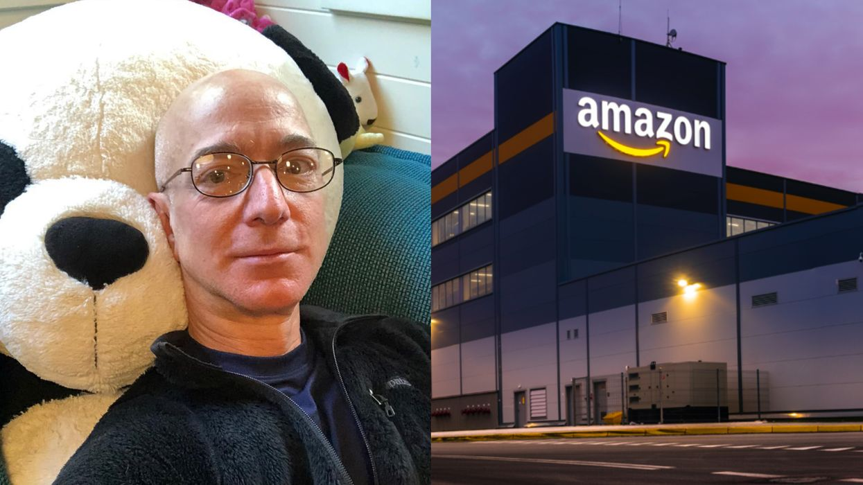 Jeff Bezos Could Give Every Amazon Employee This Bonus & Still Be Ridiculously Rich