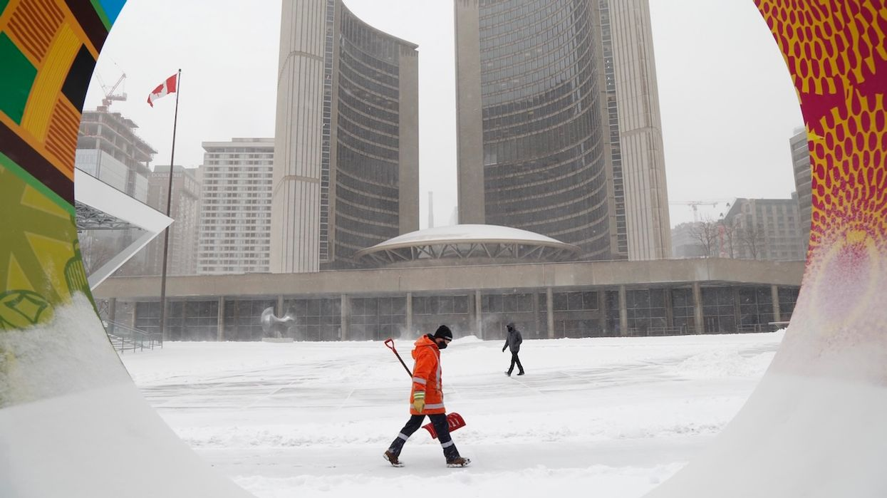 8 Photos That Show How Toronto's Brutal Snowstorm Has Turned The City Into A Snow Globe