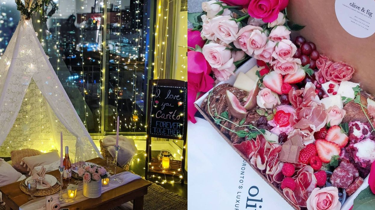 7 Romantic Date Nights You Can Get Delivered To Your Door In Toronto For Valentine's Day