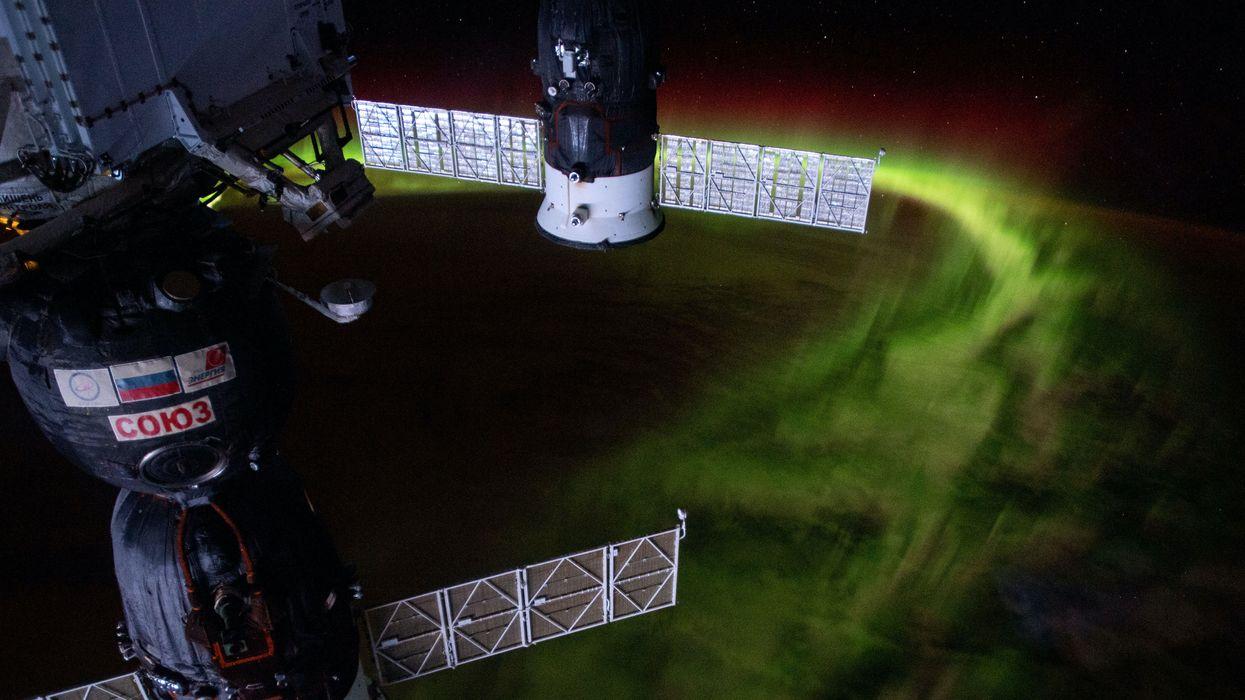 Aurora Australis NASA Astronauts Earth