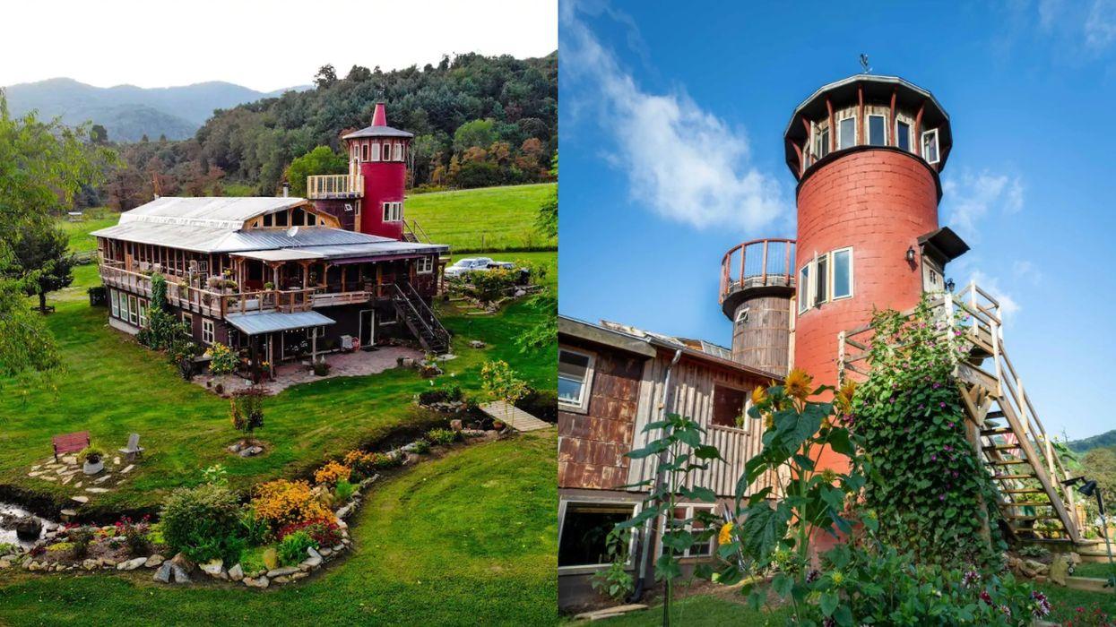 Dream Rock Silo Airbnb Virginia