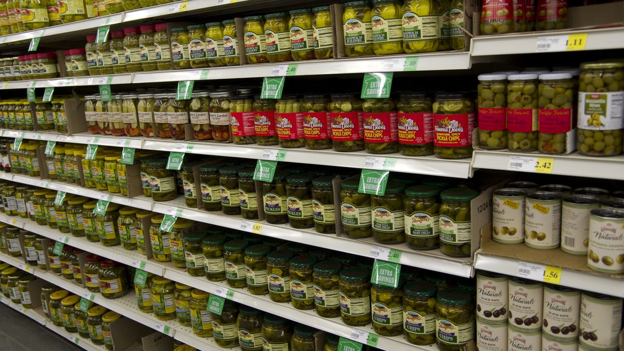 Canada Pickle Recall: Some Selection Brand Pickle Jars Contained Pieces Of Class