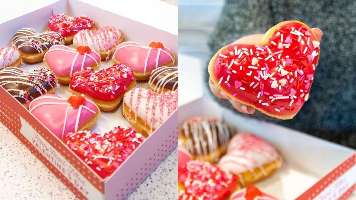 Krispy Kreme : beignes de la Saint-Valentin