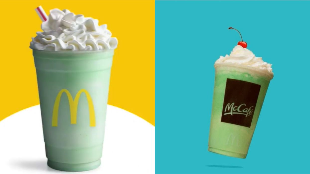 McDonald's Canada Shamrock Shake Is Coming Back & We Get It Before The US Does