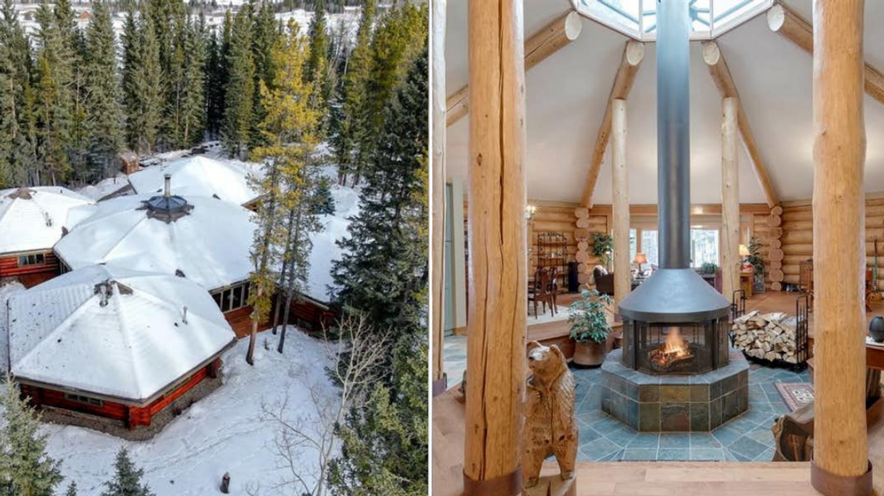 Alberta Home For Sale Is So Unique That Not A Single Room Is A Normal Shape (PHOTOS)