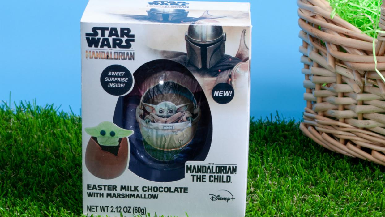 Baby Yoda The Mandalorian Hot Chocolate Bomb Easter Egg