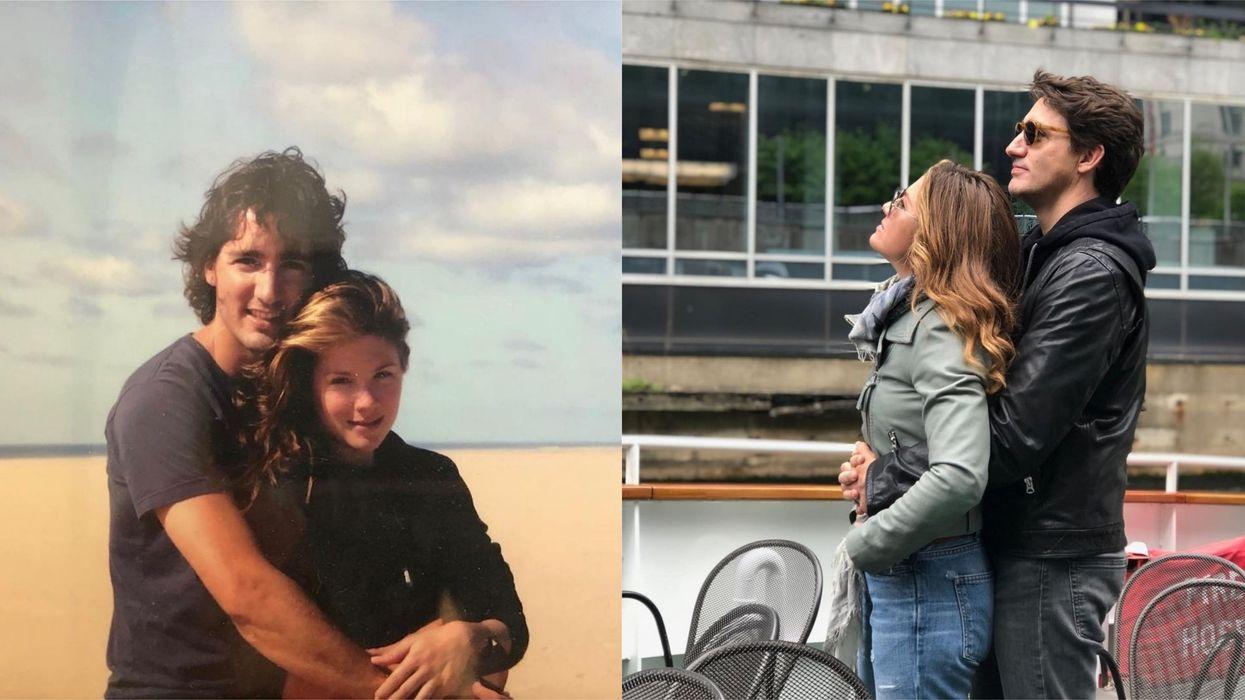 Justin Trudeau & Sophie Grégoire Trudeau's Love Story Spans Almost 20 Years