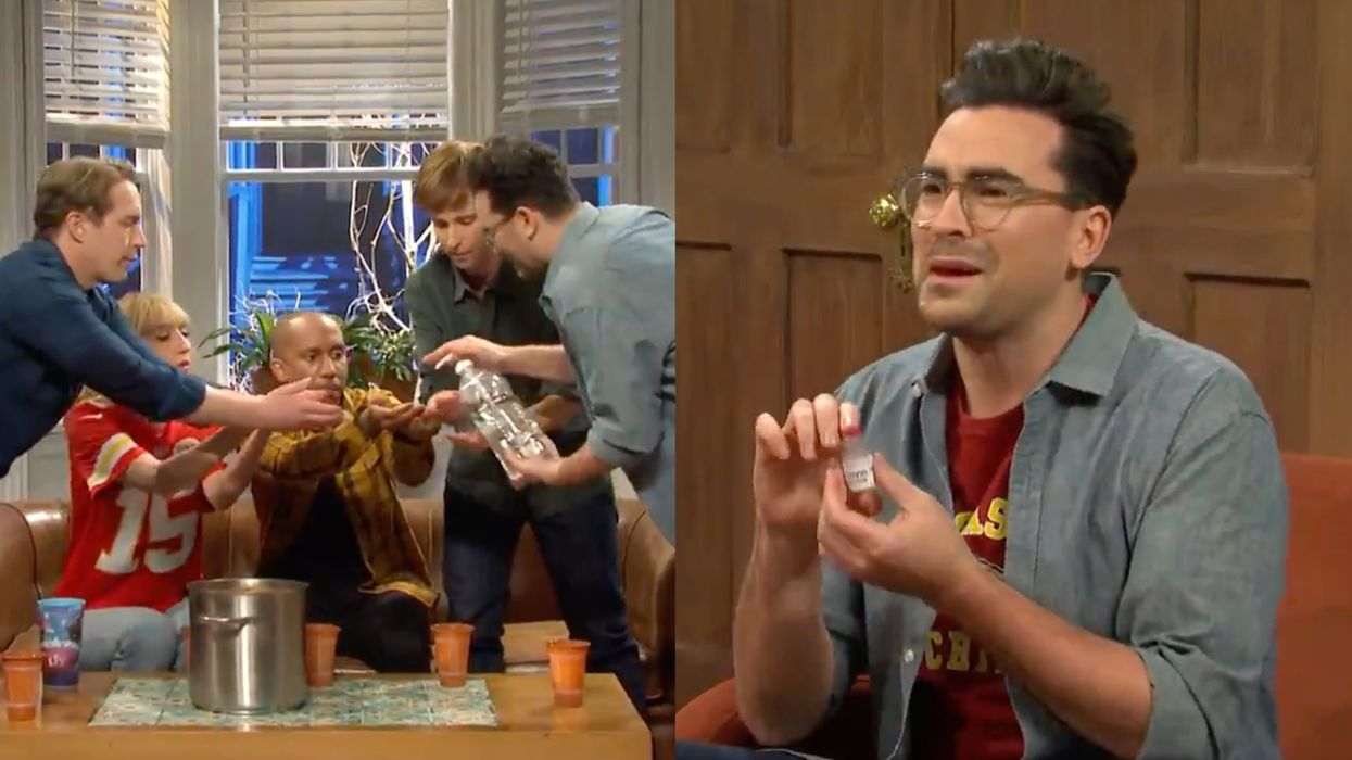 Dan Levy's 'SNL' Sketch About 'The Wrong Way To Super Bowl' Is COVID-19 Chaos (VIDEO)