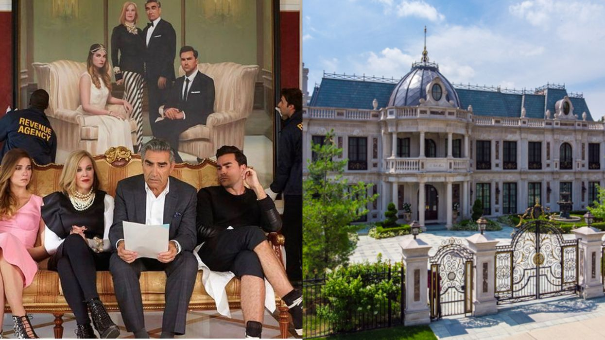The Rose Mansion From 'Schitt's Creek' Is For Sale In Toronto & It Costs Over $10 Million
