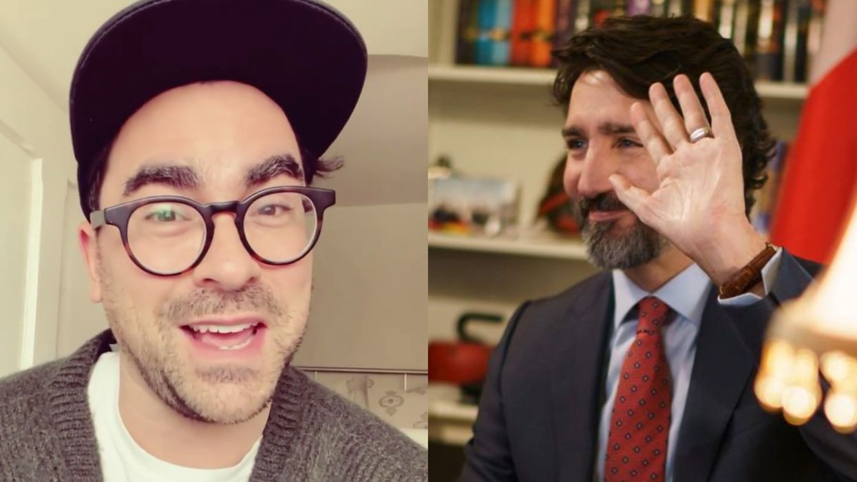 Dan Levy Hosted 'SNL' & Justin Trudeau Had The Sweetest Message For Him Afterwards